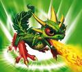 Dragon and Plant