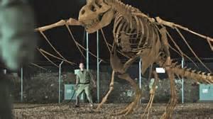 Tyrannosaurus Rex-Pteranodon Skeletal Hybrid