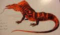 Dragonskin (Varanus dracopellis)