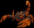 Amber Scorpion