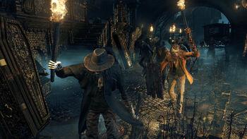 Bloodborne Hunter Mob