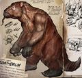 Megatherium formipavor