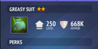 Greasy Suit