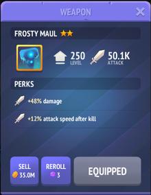 Frosty Maul