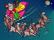 Santa Interplanetary Christmas