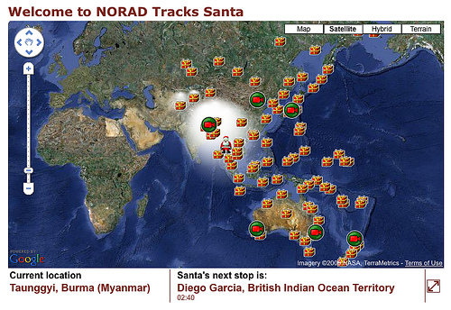 File:NORAD Tracks Santa -Track Map - 2009.jpg