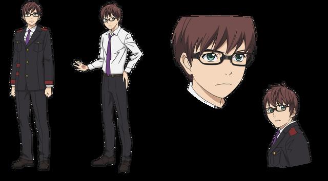 File:Character Design - Kazuma.png