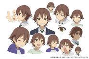 Charadesign anime kosaku