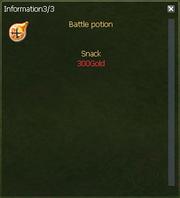 Battle Potion