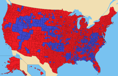 2064 Election Map
