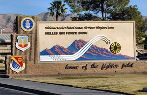 Nellis AFB Sign