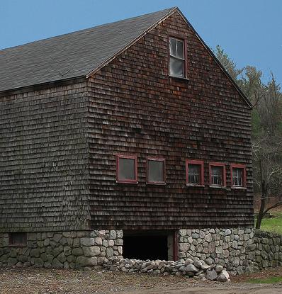Barn with basement