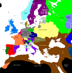 Europe 1430 38 map