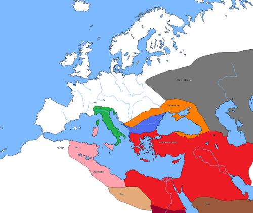 Arachosian Empire under Ashurbanipal, 663 BC
