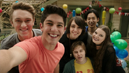 Nowhere Boys Selfie