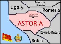 Astoria mapa