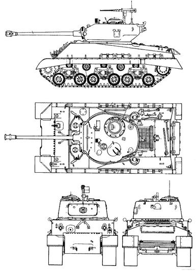 m4 sherman series  tarakian variants