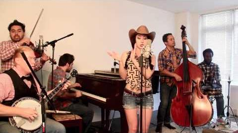 """Blurred Lines - Vintage """"Bluegrass Barn Dance"""" Robin Thicke Cover"""