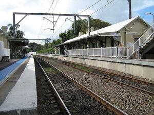 Hamilton station level