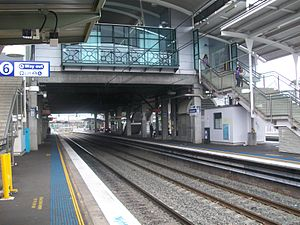 Blacktown railway station platform 6