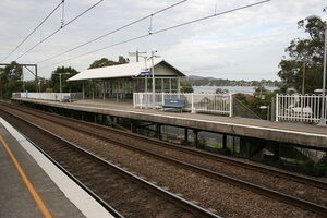 Point Clare railway station