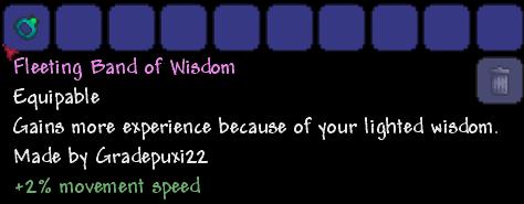 Band of wisdom