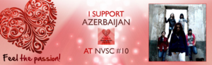 NVSC 10 Azerbaijan Banner