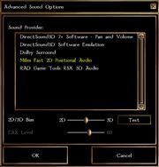 Soundoptions advanced