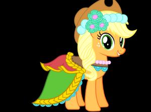 Applejack bridle girl