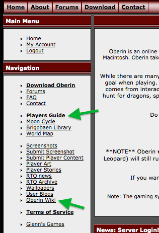 Playersguide