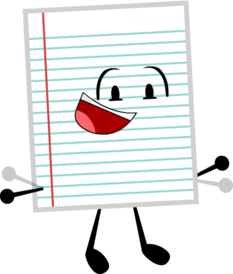 Notebook Paper Idle