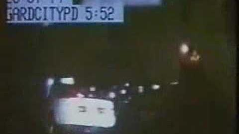Ghost Car Disappears During Police Chase-0