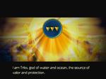 Trito speaks through Emblem of Ocean