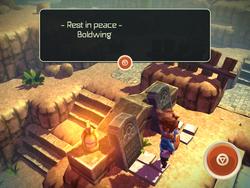 Boldwing's grave