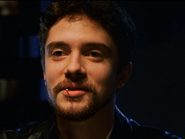 Topher Grace playing poker