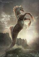 Hippocampus - golden