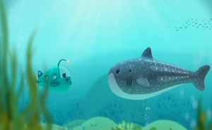 The Gup-A and the Whale Shark