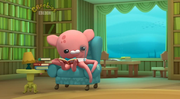 Professor Inkling in the Library