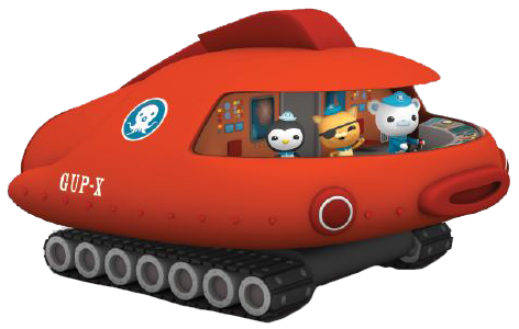 octonauts gup x coloring pages - photo#34