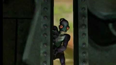 Oddworld Abe's Oddysee Rupture Farms Intro PS1