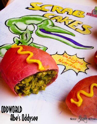 File:Scrab cakes oddworld abe's oddysee paszteciki z awokadom.jpg