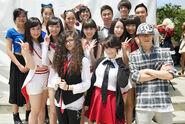 Jpop summit group pose
