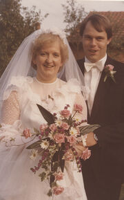1982 Hochzeit Uersel u Guenther Roehrs