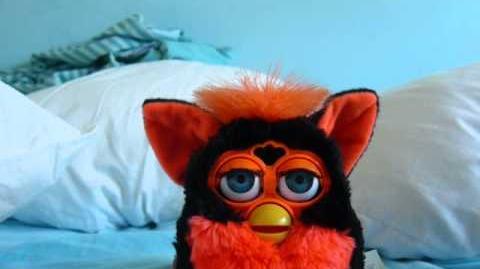 Furby 1998- Tart Tangerine