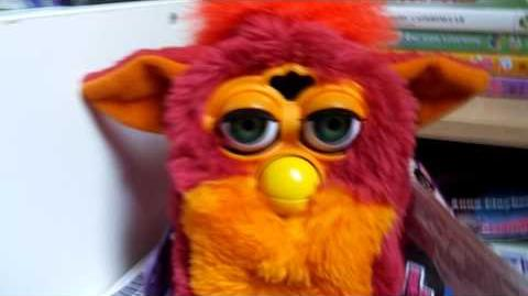 Doo-Moh the 1998 Rooster Furby
