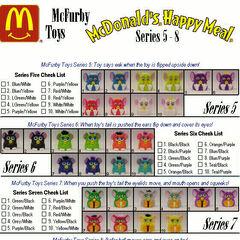 McFurbys series 5-8.