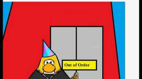 Club Penguin Trapped in an Elevator (Part 2)