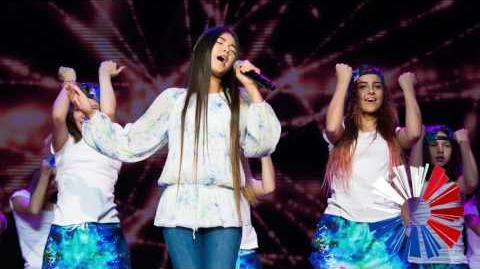 JESC Russia 2017 Polina Bogusevich - Krylja Studio Version