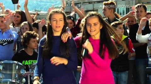Ivana Petkovska and Magdalena Aleksovska - Pletenka - FYR Macedonia - 2015