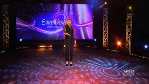 AMBER - Warrior - Malta Eurovision Song Contest 2014 - 2015